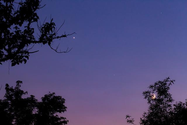 金星と月2