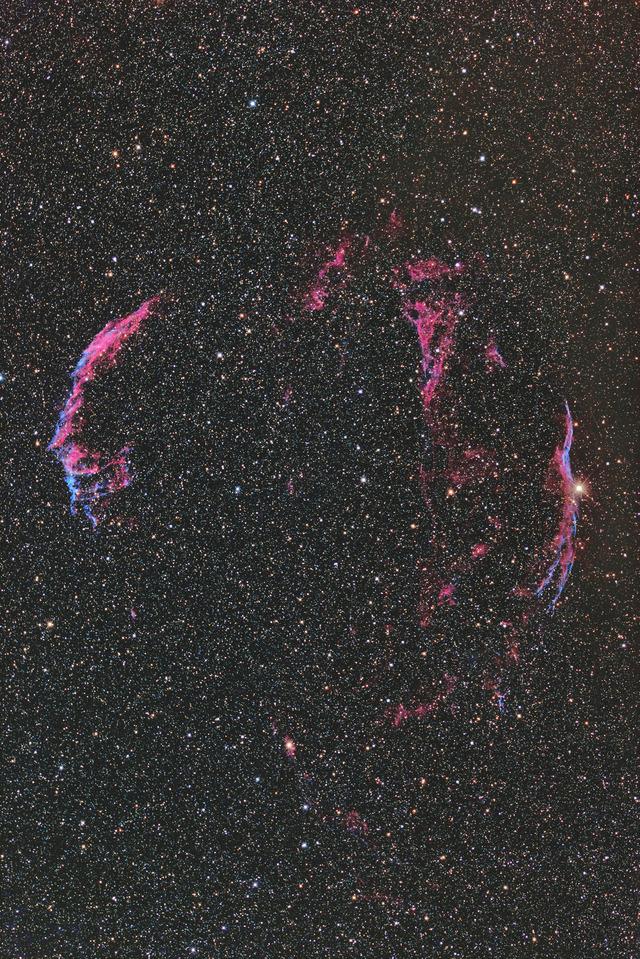 網状星雲-C4-1S-3P-1P-1P-2★