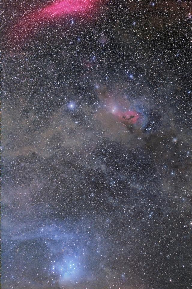 M45とカリフォルニア星雲-C1-1S-1P-2P-2P