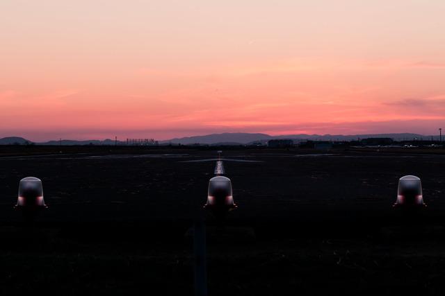 岡南飛行場 滑走路