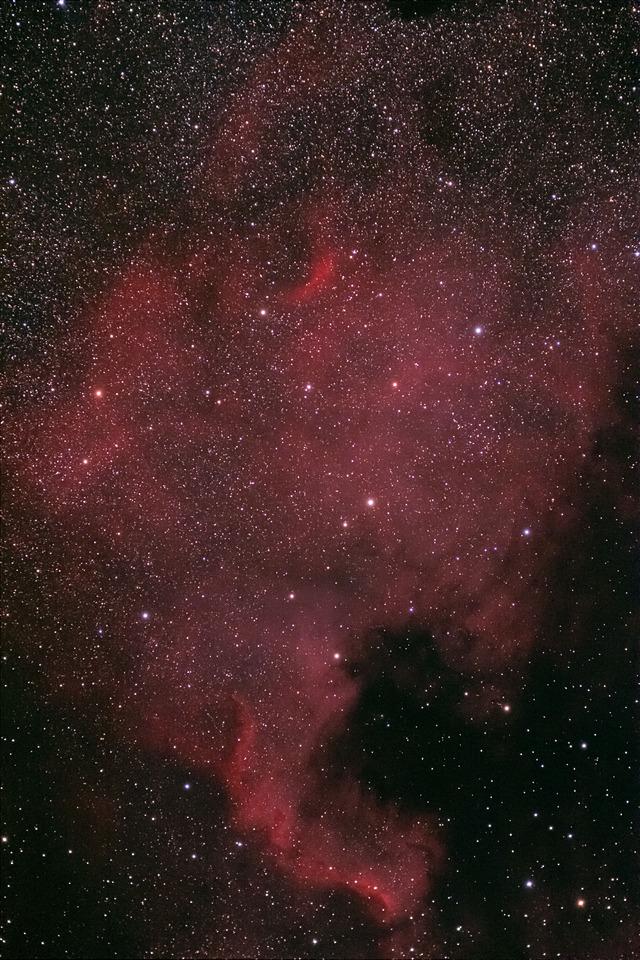 北アメリカ星雲2-A