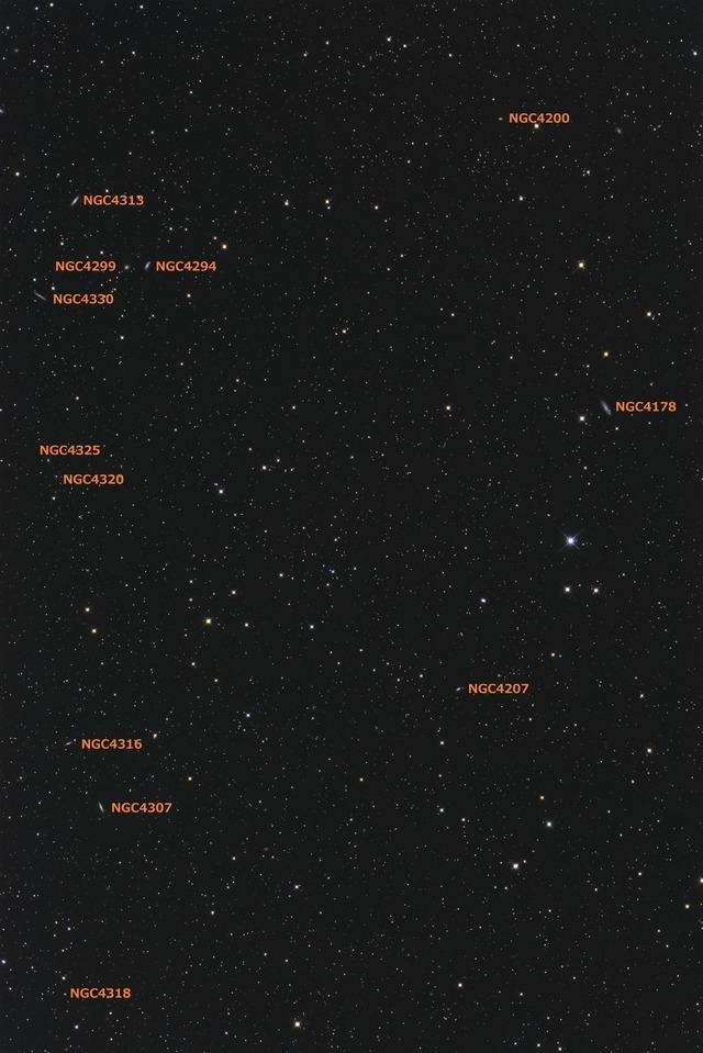 おとめ座 NGC4200付近-C1-1S-1P-1P-1PH★
