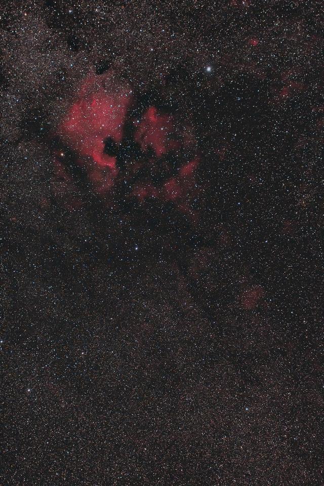 北アメリカ星雲付近-A-FL