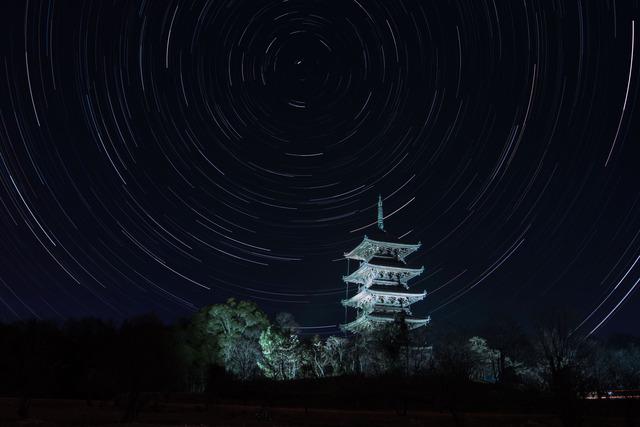 備中国分寺と北天ぐるぐる3