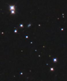 点々と並ぶ星