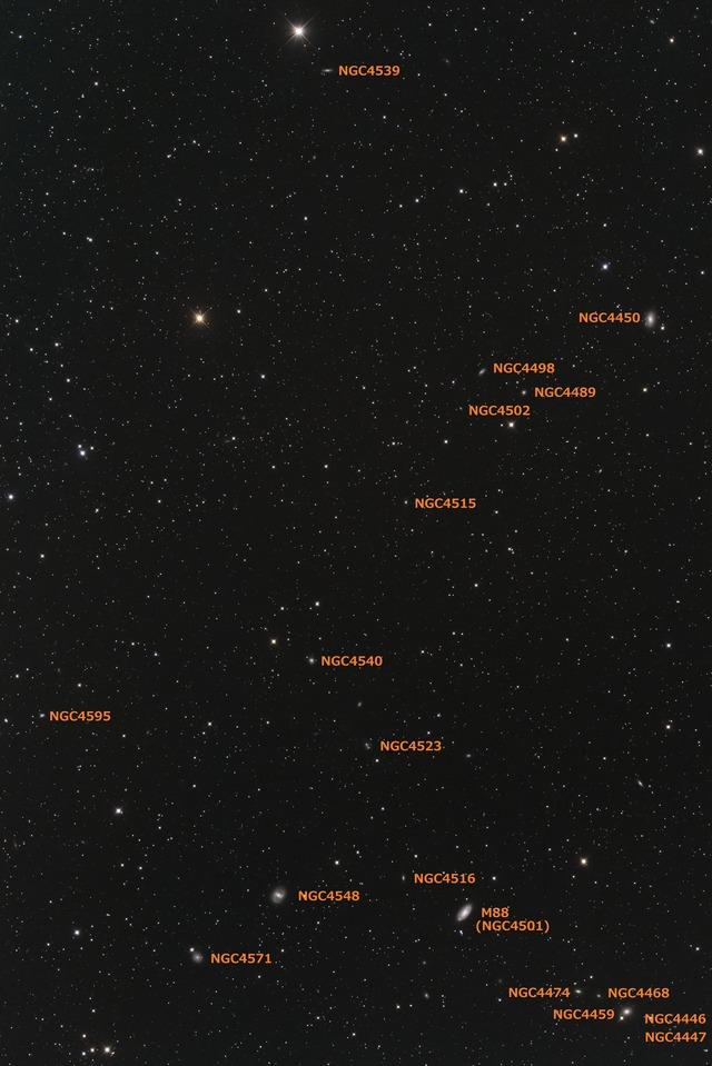 おとめ座 NGC4539付近-C1-1S-1P-1P-1PH★