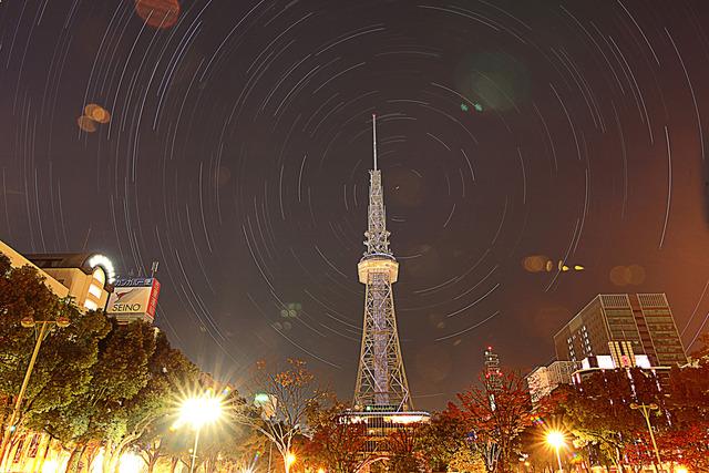 名古屋TV塔とぐるぐる-2