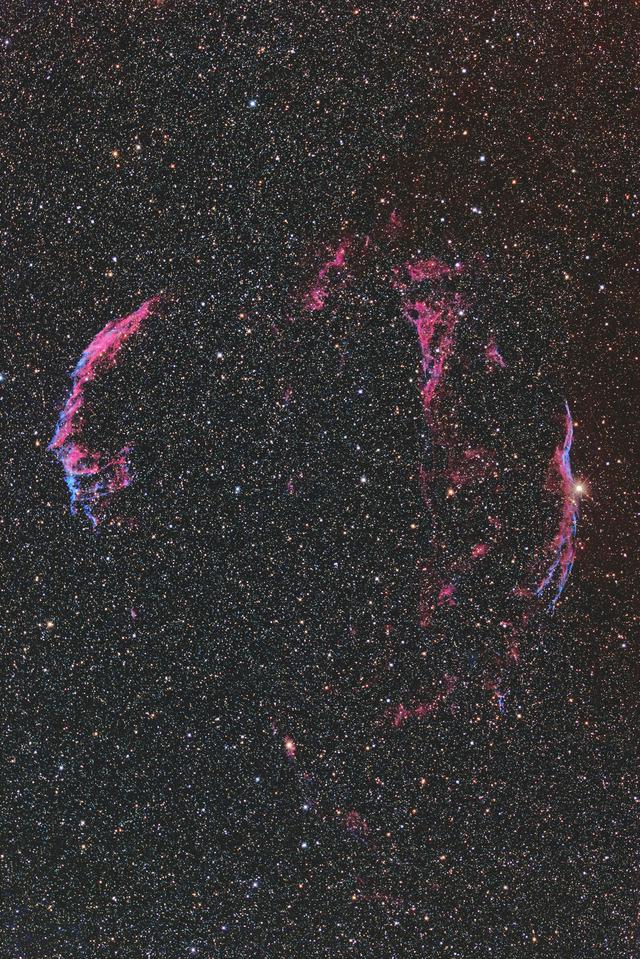 網状星雲-C4-1S-3P-1P-1P★