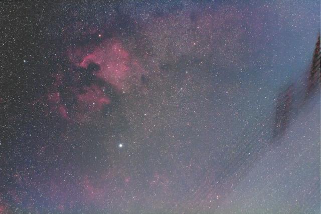 北アメリカ星雲(中央)-FL-2