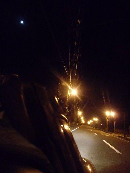 星の林に月の舟浮かぶ弦月夜の街は静まり 明けた街道は追突大炎上で目 ...