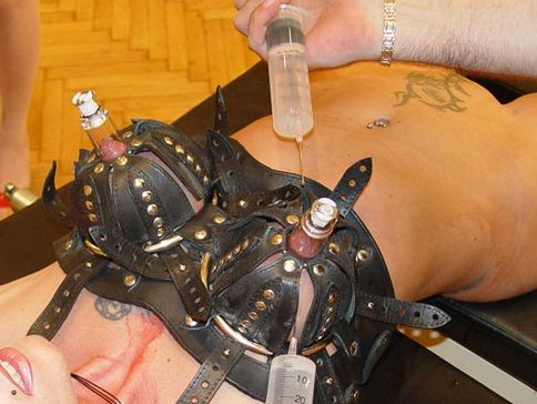 13nov2017 spiked nipple torture