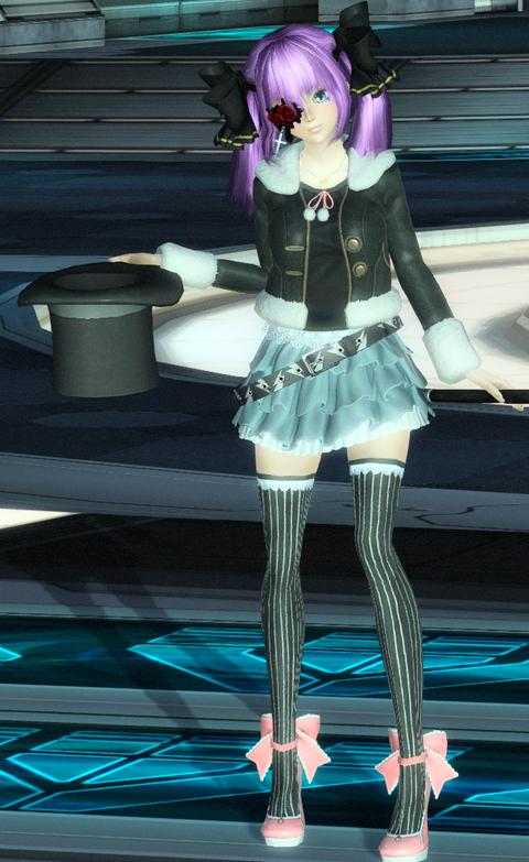 デニムスカートコーデ☆クレア姫