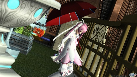雨傘とアクエリアコート