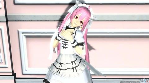 ピュアメイドドレス冬2