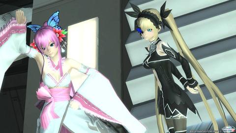 ニーナちゃんとクレア姫♪