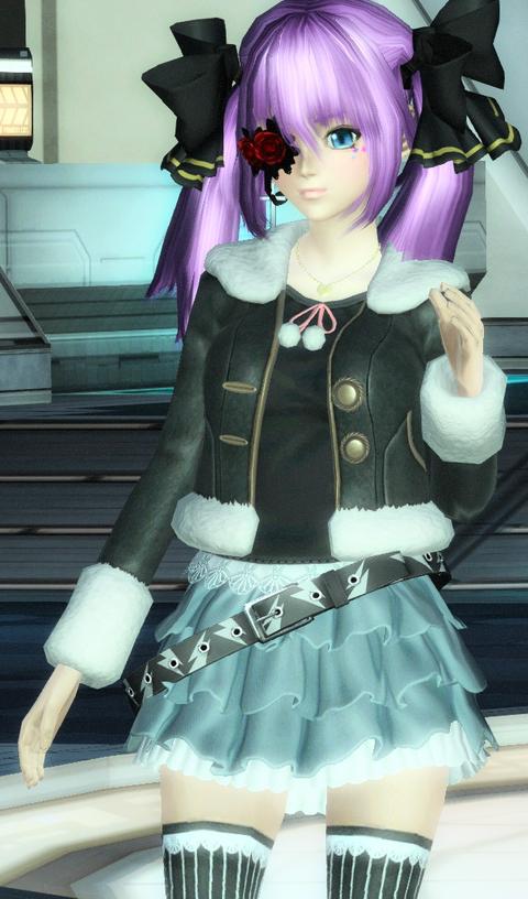デニムスカートコーデ♡クレア姫
