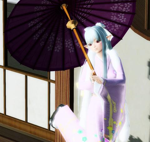 アメちゃん和傘