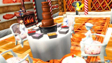 チョコレートパーティ♪