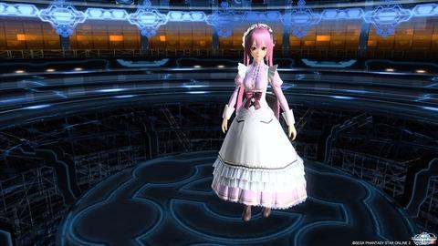 クラシックメイドドレス桜