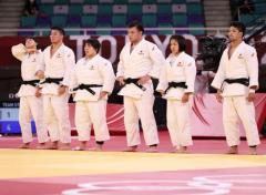 混合団体 日本銀メダル フランスが初代王者に【五輪柔道】