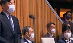 天皇陛下が開会宣言も着席したまま 菅首相と小池都知事に厳しい声