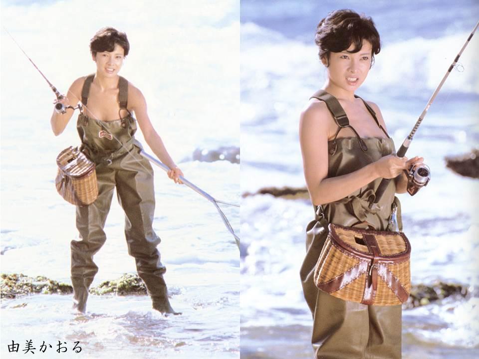 由美かおるさんの水着
