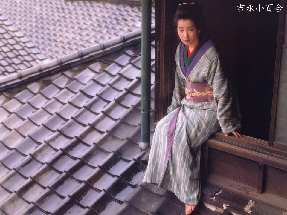 屋根の上の吉永小百合