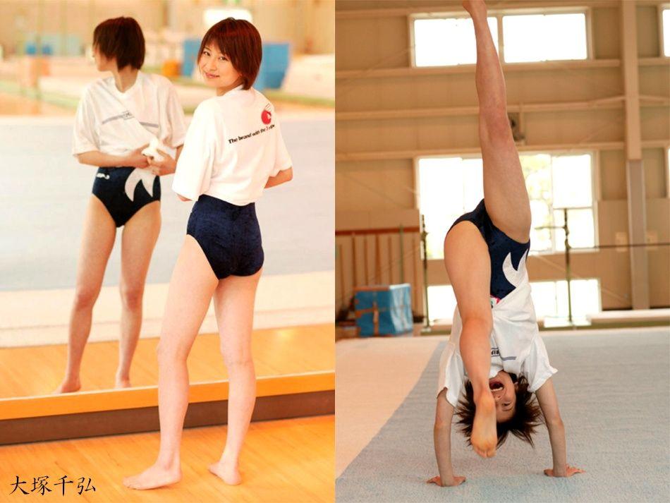 大塚千弘さんのショートパンツ姿