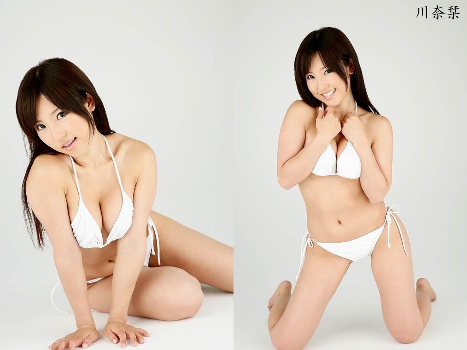 川奈栞さんのビキニ