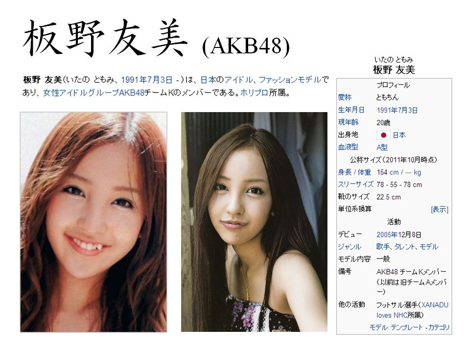 縛られた女性有名人たち : 板野友美 [AKB48]