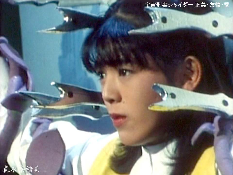 ヘアスタイルが素敵な森永奈緒美さん