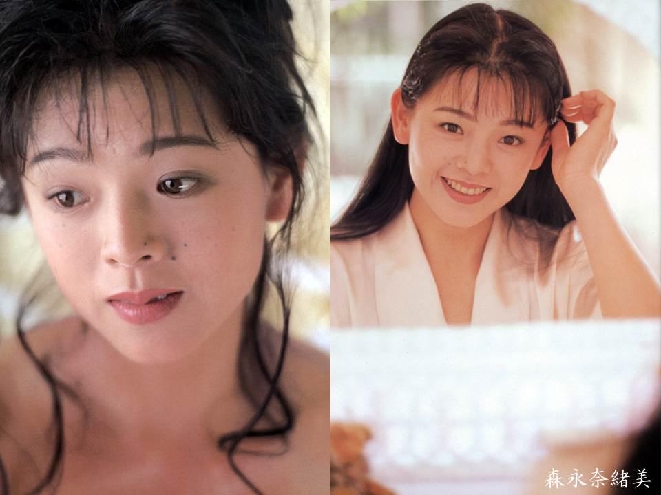 髪のアクセサリーが素敵な森永奈緒美さん