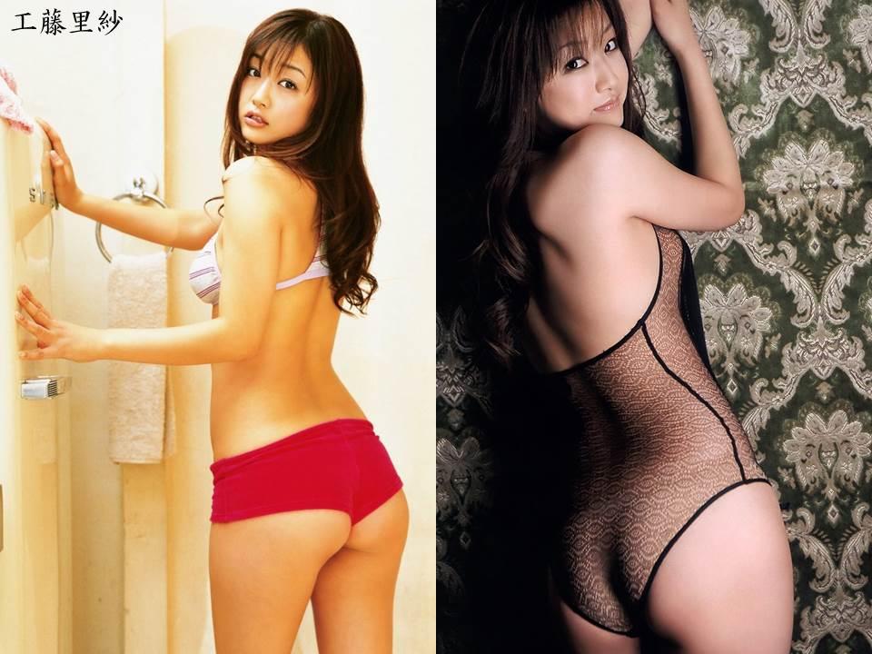 工藤里紗さんの水着