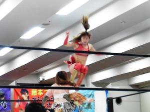 星ハム子&宮城もち vs アジャ・コング& 藤本つかさ (9)