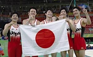 体操男子団体 (2)