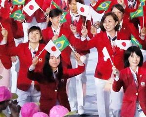 日本選手団 (2)