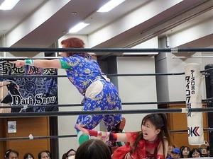 藤本つかさ vs 米山香織 vs 山下りな (15)