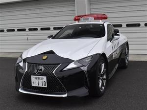 レクサスパトカー(栃木県警)