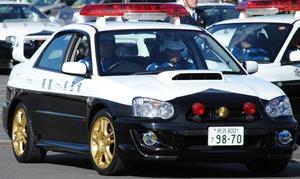 埼玉県警 インプレッサ