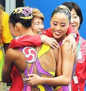 笑顔の井村コーチ