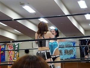 希月あおい vs 桜花由美 (11)