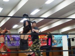 尾崎魔弓&桜花由美&雪妃魔矢 vs 加藤園子&AKINO&花月 (13)
