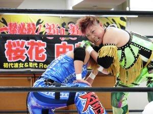 ダイナマイト関西vs浜田文子 (4)