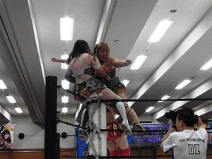 星ハム子&宮城もち vs アジャ・コング& 藤本つかさ (2)