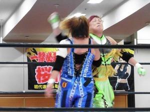 ダイナマイト関西vs浜田文子 (3)