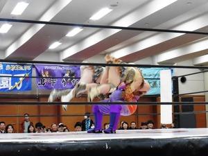 星ハム子&宮城もち vs アジャ・コング& 藤本つかさ (10)