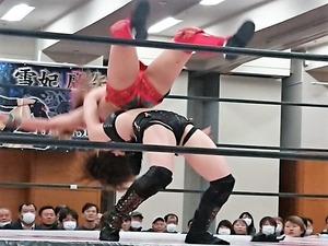 朱里 vs 安納サオリ (3)