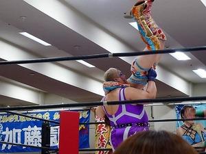 アジャ・コング&松本浩代 vs 倉垣翼&藤本つかさ (16)