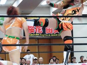 松本浩代vs長浜浩江 (2)