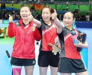 卓球女子団体 (2)